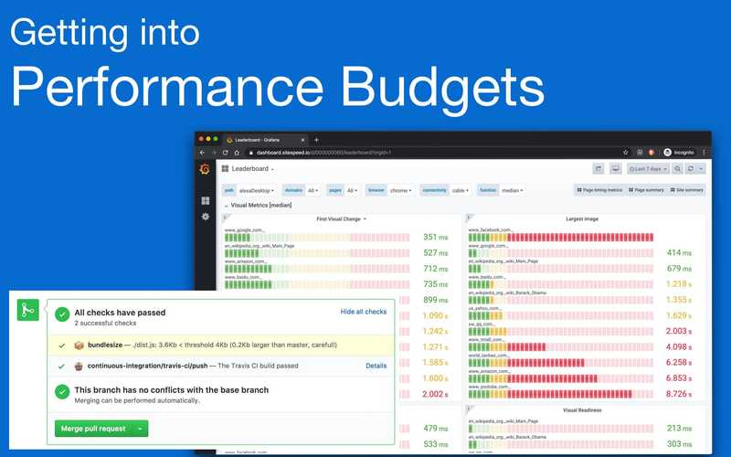 Getting into performance budgets
