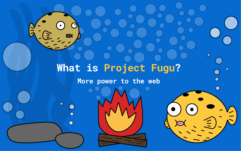 Project Fugu - Web Capabilities - Cover Image Underwater World